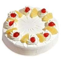 Send 3 Kg Pineapple Cake in Bengaluru From 5 Star Bakery
