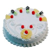 Order Online 500 gm Eggless Pineapple Cake Delivery in Bangalore