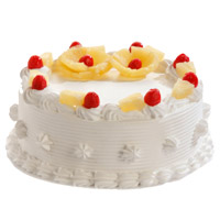 Send Cake to Bengaluru - Pineapple Cake From 5 Star