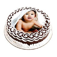 Send Ganesh Chaturthi Cakes to Bengaluru - 1 Kg Photo Cake