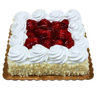 Send Online Cake to Bangalore - Strawberry Cake