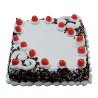 Send Mother's Day Cakes to Bengaluru - Square Black Forest Cake