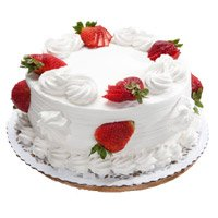 Best Cakes Delivery in Bengaluru - Strawberry Cake From 5 Star