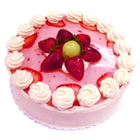 Best Cake Delivery in Bengaluru - Strawberry Cake From 5 Star