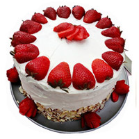 Cake to Bengaluru - Strawberry Cake From 5 Star