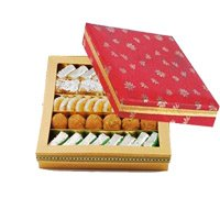 Send Rakhi to Bangalore. 250gm Assorted Sweet With 1 Rakhi
