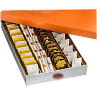 Best New Year Gifts Delivery in Bangalore. 2 kg Assorted Kaju Sweets to Bangalore