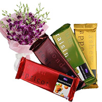 Deliver Chocolates to Bangalore along with 4 Cadbury Temptation Bars Chocolates and Gifts in Bengaluru