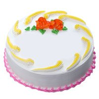 Send 500 gm Eggless Vanilla Cake to Bangalore