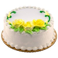Online Cakes to Bengaluru - Vanilla Cake From 5 Star
