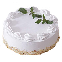 Online Cake Delivery in Bengaluru - Vanilla Cake From 5 Star