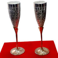 Buy New Year Gifts in Bangalore together with A Pair of Glasses in Brass