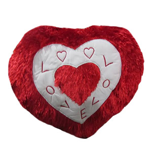 Heart Shape Pillow includes Christmas Gifts to Bangalore