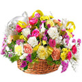Flowers to Bangalore : Send Rakhi Flowers to Bangalore